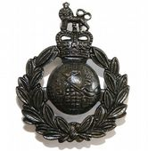 Issue Royal Marines Bronze Beret / Cap Badge